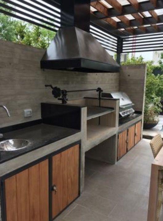 Big Green Egg And Grill Island Backyard Kitchen Outdoor Kitchen Island Patio Kitchen