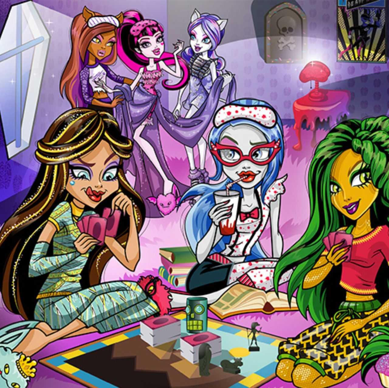 https://www.tumblr.com/search/gigi grant | Monster High stuff and ...