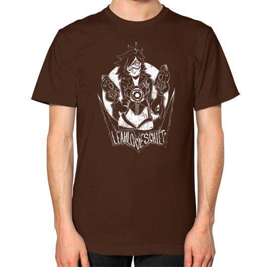 Cheers love, leahloveschief's here! Unisex T-Shirt (on man)