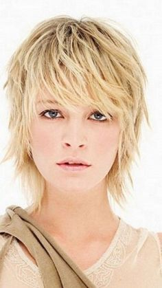 20 Short Sassy Shag Haircuts You Will Love With Pictures Short Thin Hair Short Hair With Layers Razored Haircuts