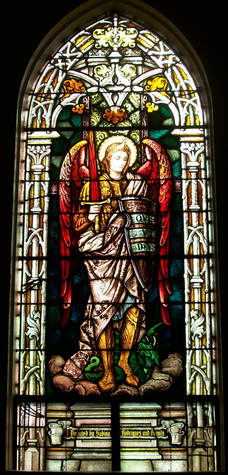 Archangels names and meanings catholic - St Michael The Archangel St Joseph Catholic Church Maui Hawaii