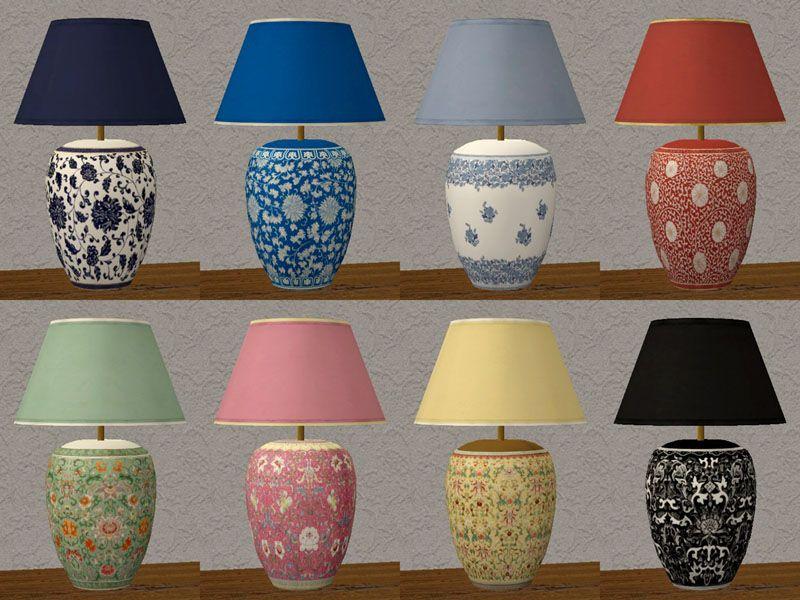 Manila Lamp Collection