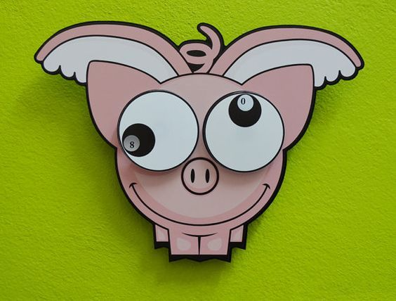 Pin By Patrice Wells On La Piara Voladora My Flying Piglets Mina Flygande Grisar O O Funny Pigs Pig Moving Eyes