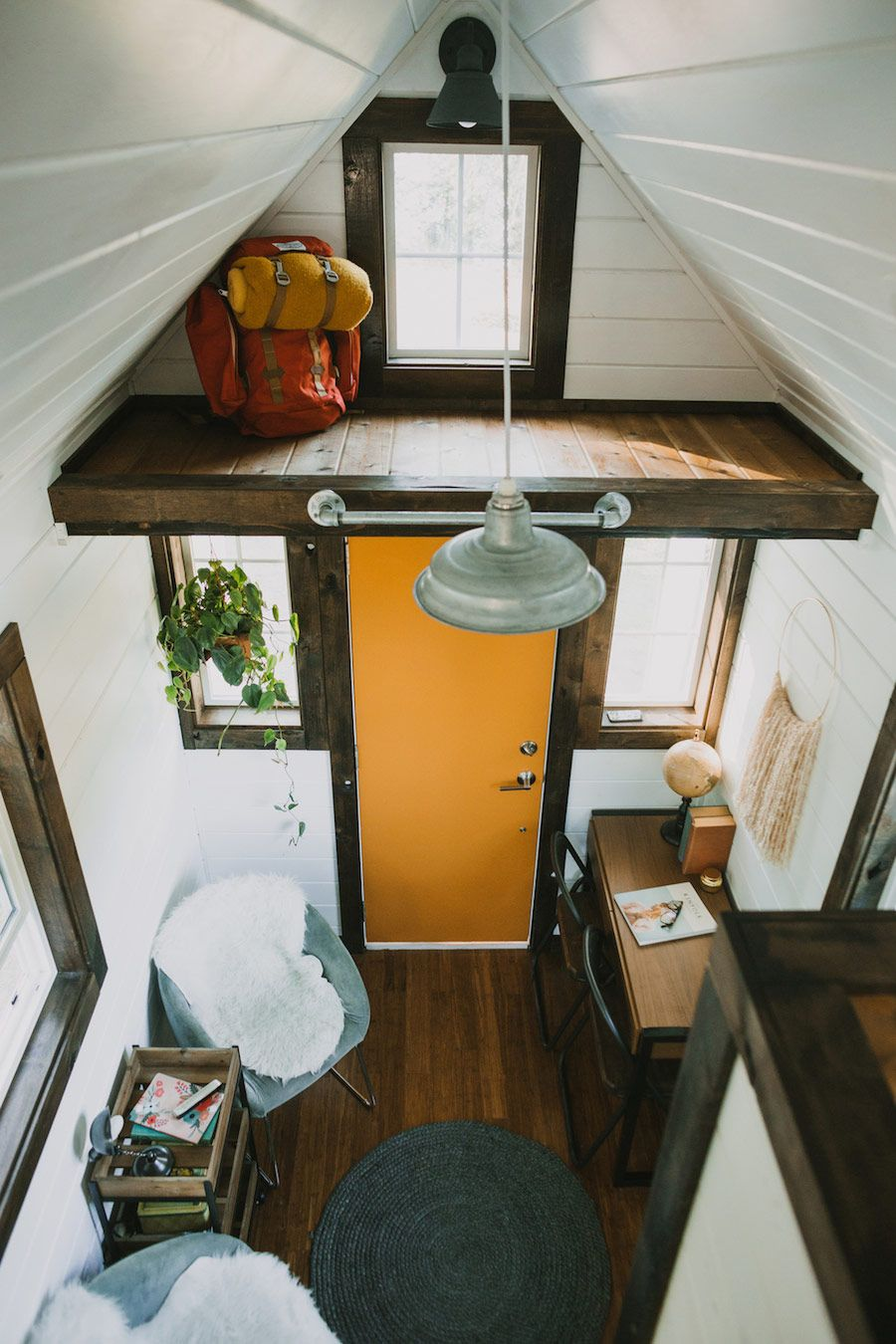 A custom tiny house on wheels in Oregon City Oregon httpwww