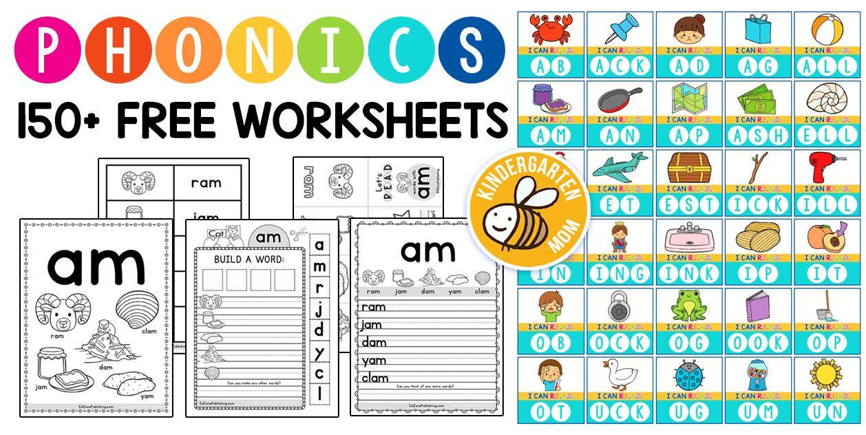 Phonics Worksheets Kindergarten Phonics Worksheets Phonics Worksheets Kindergarten Worksheets [ 632 x 1258 Pixel ]
