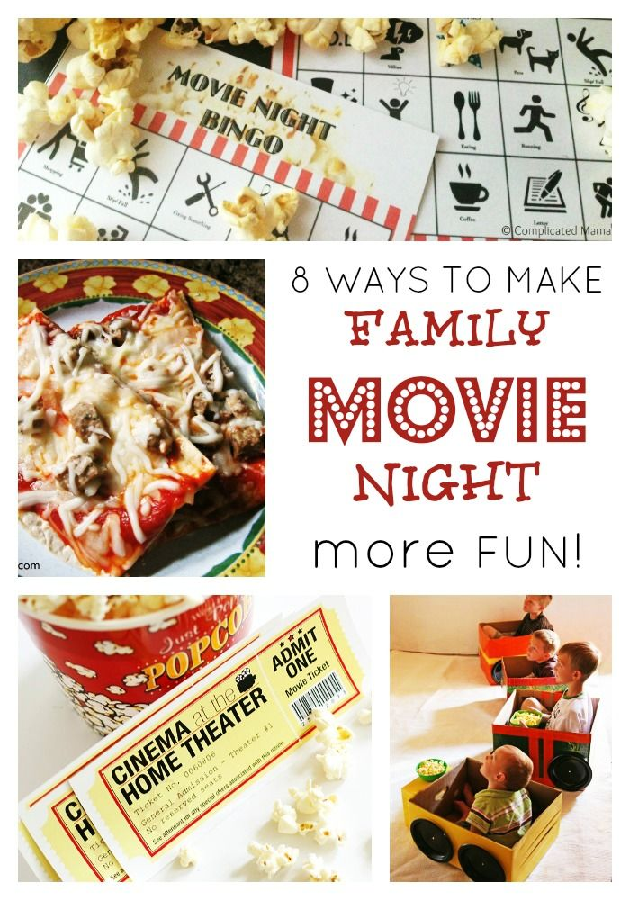 Seriously Fun Ideas For Family Movie Night Family Movies