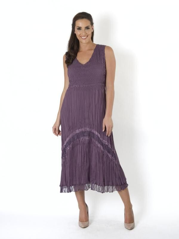 Purple Mother of the Bride Wedding Outfits & Dresses