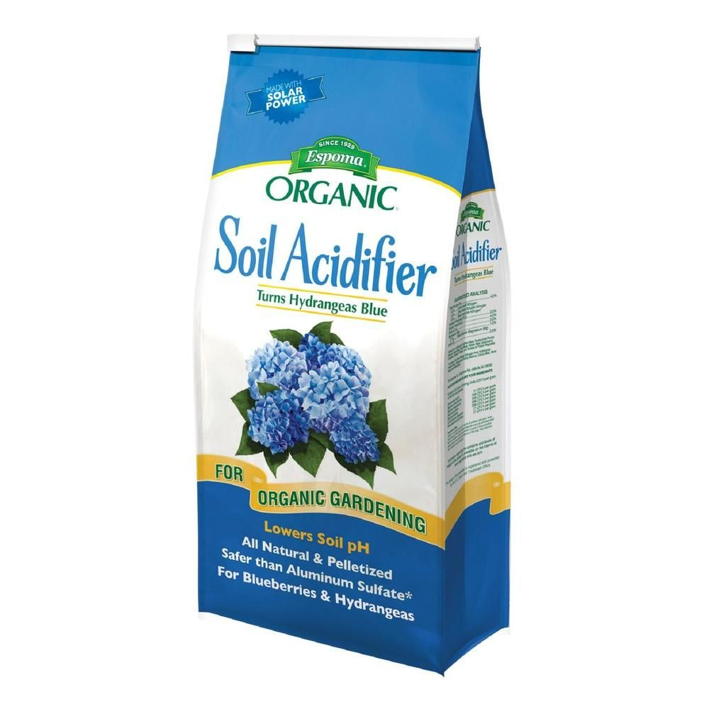 Espoma 6 Lb Soil Acidifier Super Soil Organic Soil Garden Soil Soil Ph