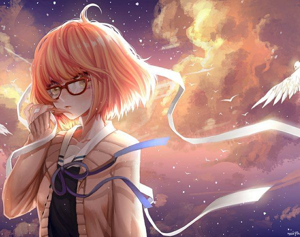Anime Picture Kyoukai No Kanata Kyoto Animation Kuriyama Mirai Zi Jun Single Short Hair 1125x889 316148 En Anime Kuriyama Anime Images
