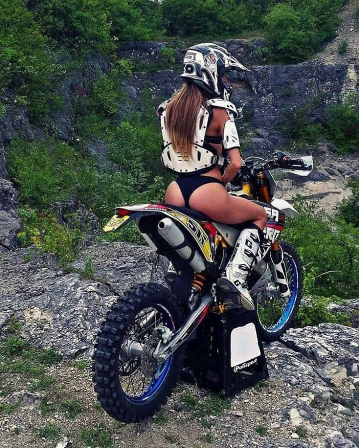 Collage motocross topless girls photos show suck