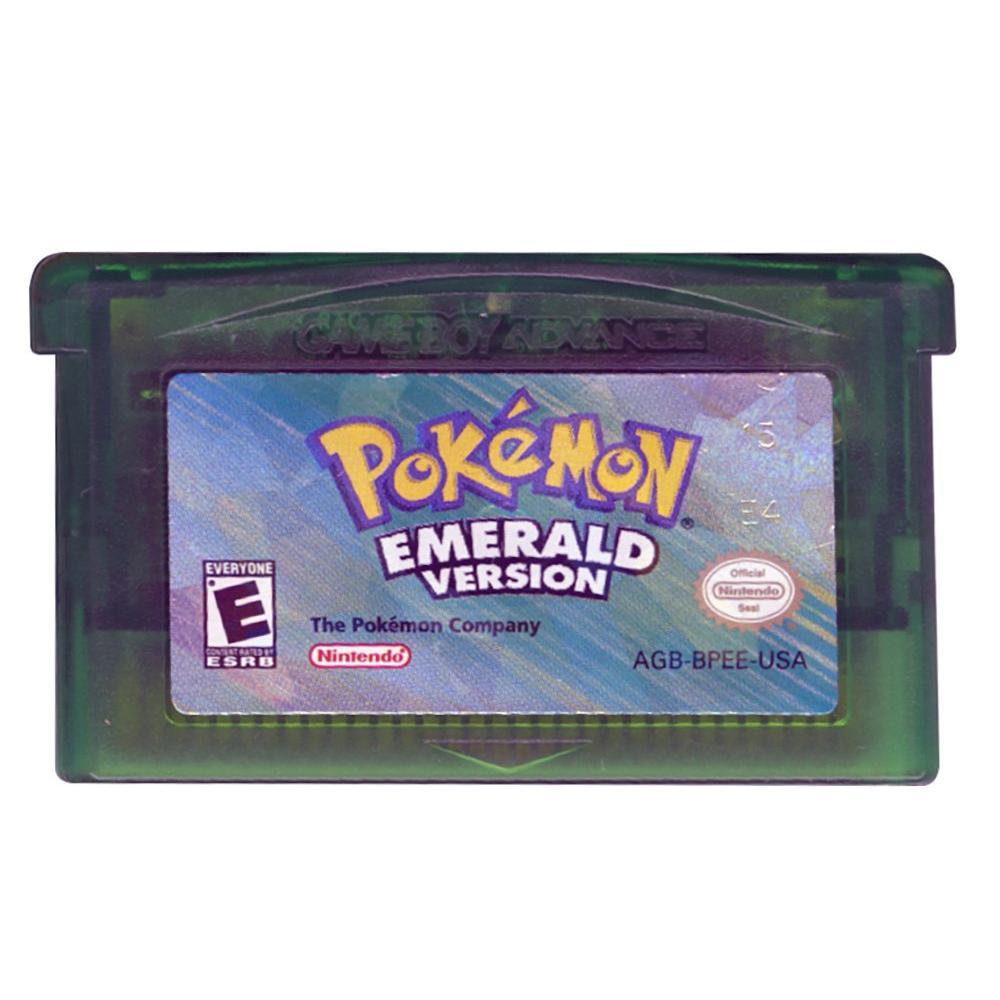 Pokemon Emerald Game Boy Advance Gamestop Pokemon Emerald Game Boy Advance Gameboy