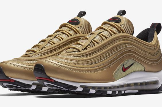 Official Images Of The Nike Air Max 97 Metallic Gold Sko  Shoes