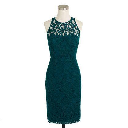 Pamela Dress In Leavers Lace