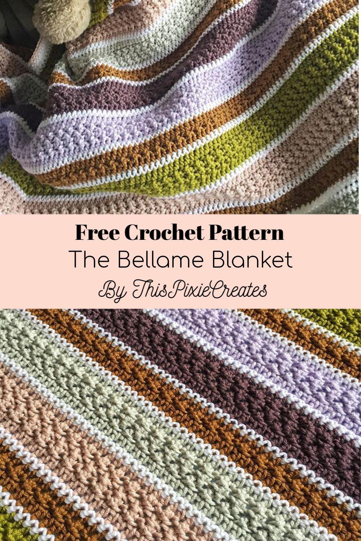 The Bellame Blanket: Free Crochet Pattern