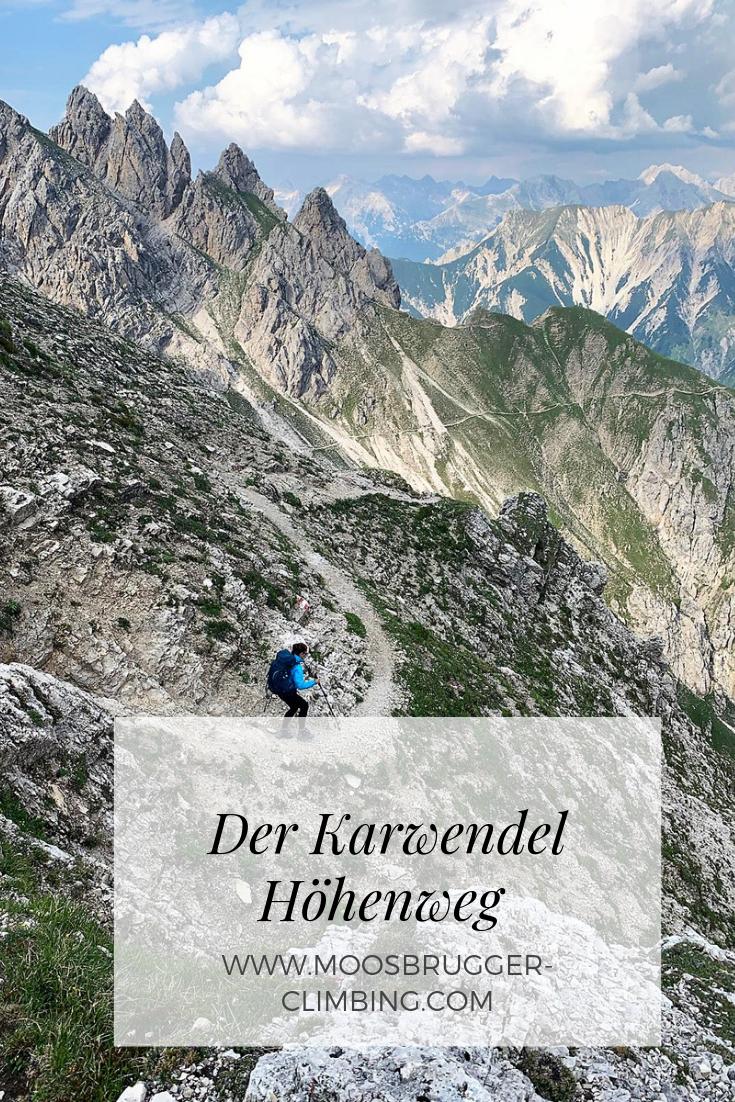Unterwegs am Karwendel Höhenweg ..eine der schönsten Höhenwege in den Alpen. Alle Infos gibt es hier... #naturallandmarks