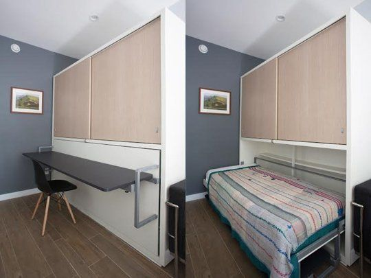 A 200 Square Foot Micro Studio With Style — Professional Project ...