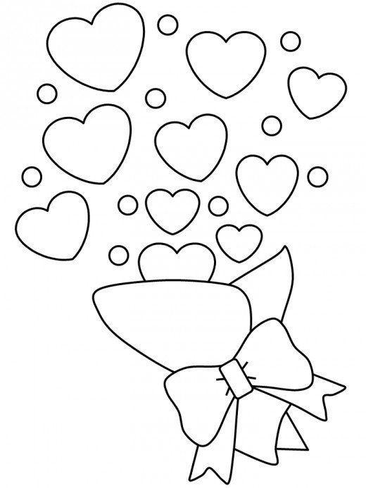 valentinstag ausmalbilder f kinder  amorphi