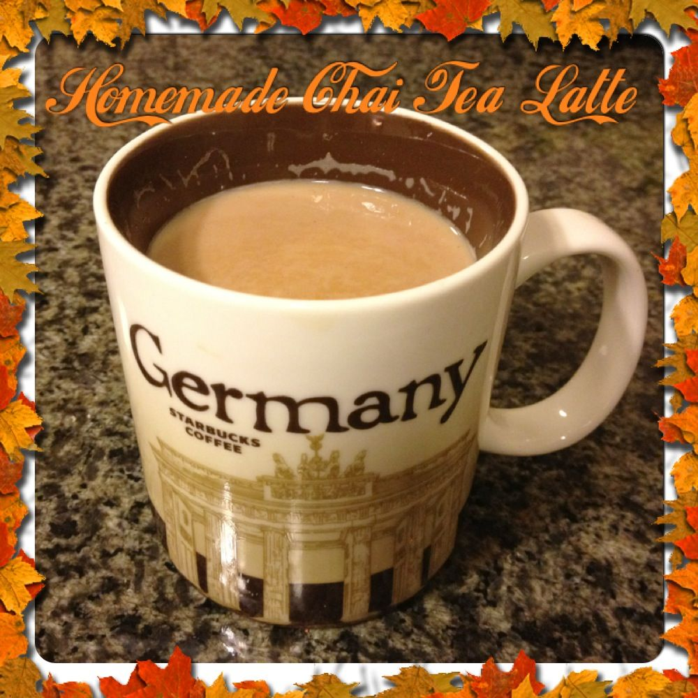 Homemade Chai Tea Latte :: Love At Home -- Need To Try It