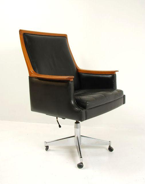 Torbjørn Afdal; Teak, Leather and Chromed Steel 'Minerva' Armchair for Bruksbo, c1956. #apartmentsnob #sixtycolborne