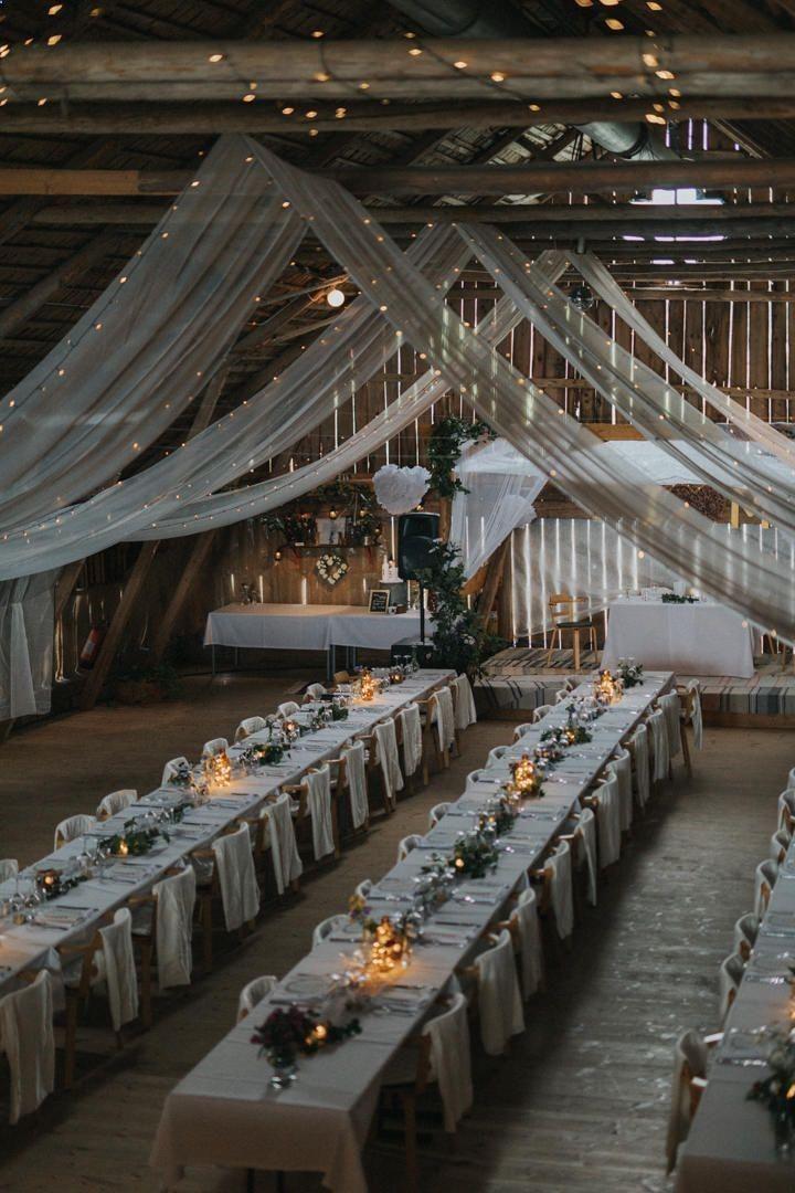 36 Inspirational Rustic Barn Wedding Ideas 2019 Barn wedding decorations Diy wedding