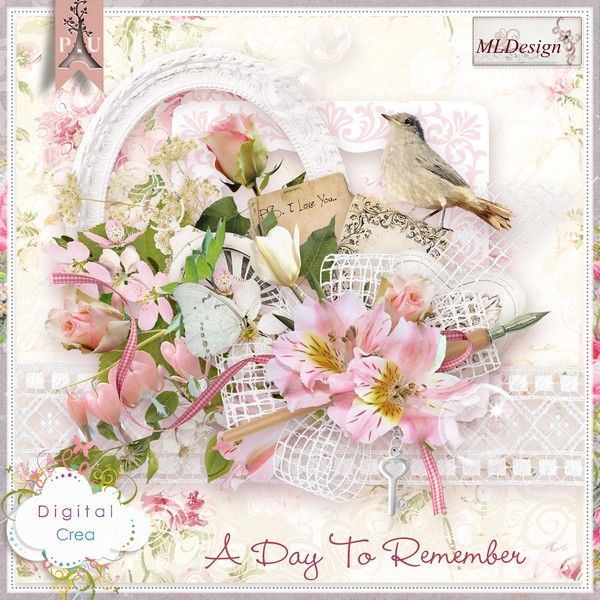 A day to remember by MLDesign  Mini Kit - Digital-crea 2014
