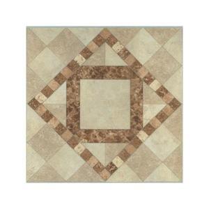 "How To Cut Decorative Tile Mohawk Natural Bella Rocca 12"" X 9"" Decorative Diamond Cutout"