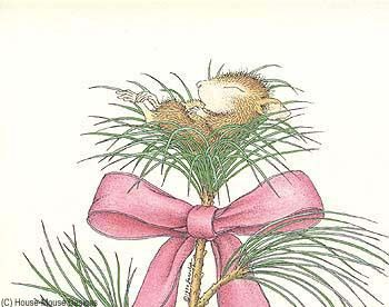 """""""Wishing you a peaceful holiday season."""" from House-Mouse Designs"""