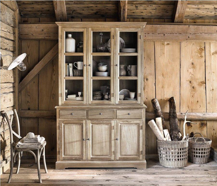 Vaisselier 6 portes 3 tiroirs CAVAILLON en paulownia - Vaisselier - Meuble Bibliotheque Maison Du Monde