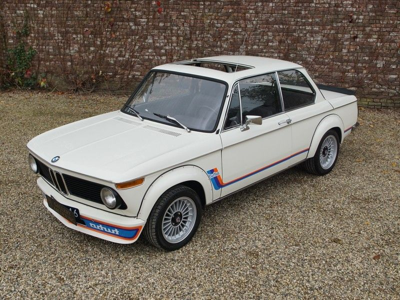 BMW 2002 Turbo only 51.974 kms! matching numbers and colours, sunroof! | Gallery Aaldering