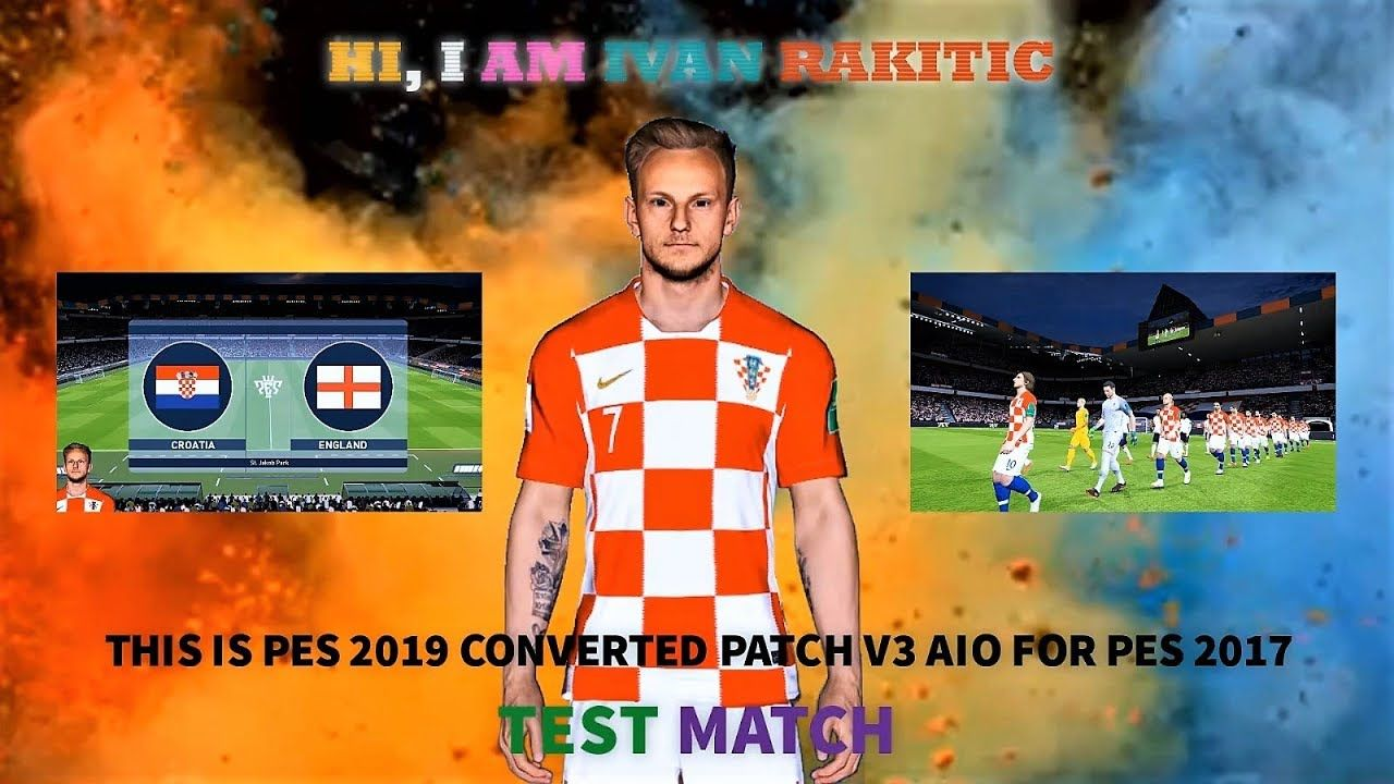 PES 2019 Converted Patch V3 AIO For PES 2017 TEST MATCH With