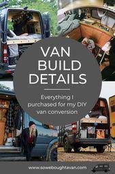 Photo of Die Umwandlung eines Lieferwagens in ein winziges Haus ist ein riesiges Projekt,…