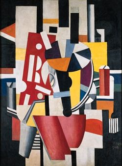 Composition (Le typographe) By Fernand Léger