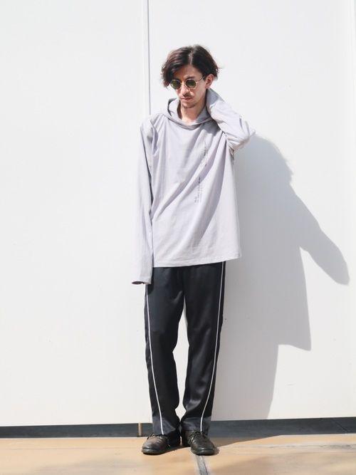 lui s 池袋 staff 芳村 lui s 池袋店 lui sのパーカーを使ったコーディネート wear パーカー ファッション ファッションコーディネート