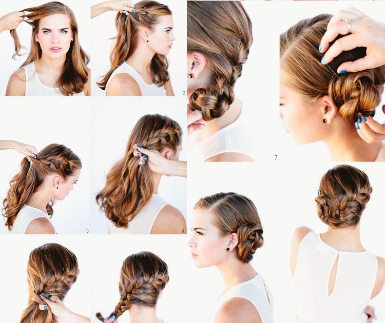 Frisuren selber machen tutorial