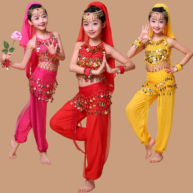 deda02ad7 Indian dance costumes kids dance performances under belly dance ...