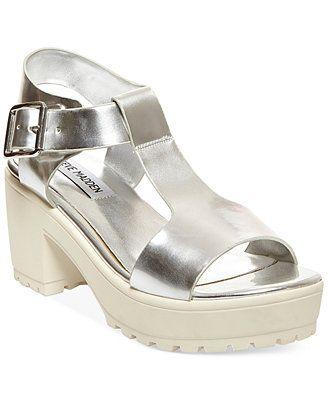6f95923cf87 Steve Madden Women s Stefano Block Heel Platform Sandals MXN ...