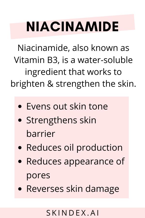 Niacinamide - Product Ingredient   Skindex
