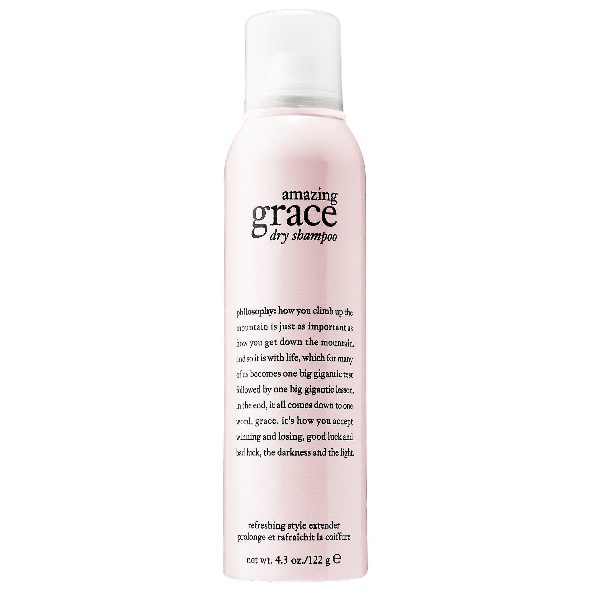 Philosophy Amazing Grace Dry Shampoo 4 3 Oz 122 G Philosophy Amazing Grace Dry Shampoo Amazing Grace