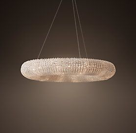 CRYSTAL HALO Restoration Hardware 68290750 high quality replicas of Restoration Hardware lighting direct from China & Crystal Halo (Saturn) - Matte Natural | RH | DECORATING | Pinterest ...