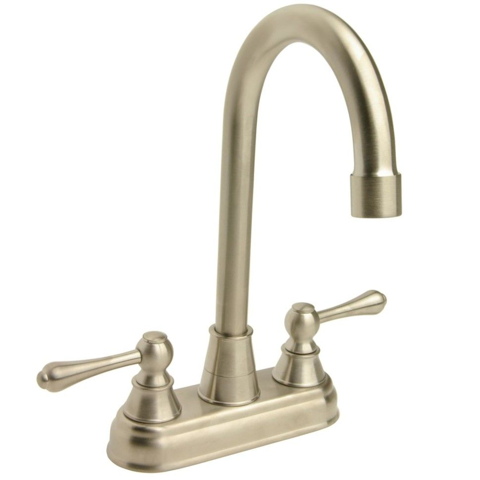 Kitchen:High Arc Brushed Nickel Bar Faucet L13125437 Modern Kitchen ...