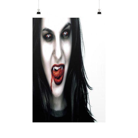 VAMPIRE WOMAN Vertical Fine Art Prints (Posters)