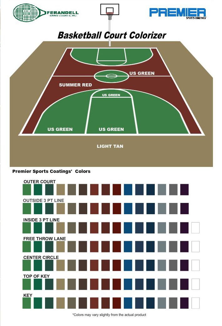 47 Beautiful Basketball Courts Ideas, Best Paint For Outdoor Basketball Court Lines