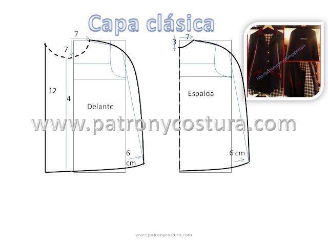 Patrón y costura : capa clásica-Tema 20- editada 2/1/2015 ...