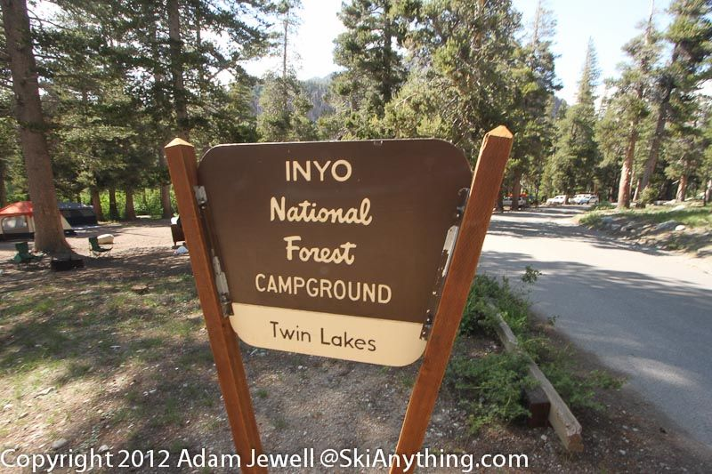 Twin Lakes Campground (Mammoth, CA)