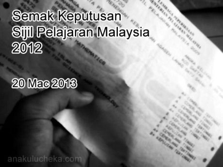Semak Keputusan Spm 2012 Personalized Items Receipt Person