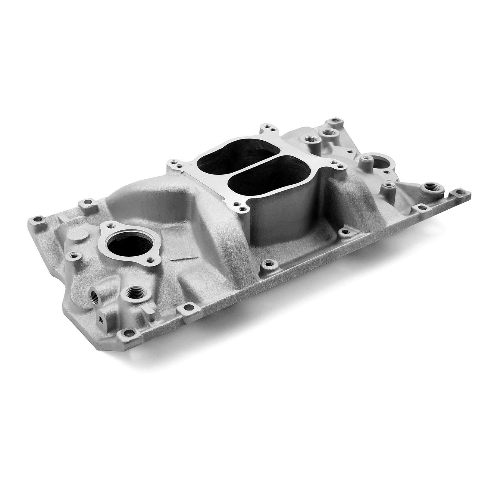Chevy Sbc 350 Holeshot Vortec Intake Manifold Ceramic Coated Chevy Performance Racing Electronic Products