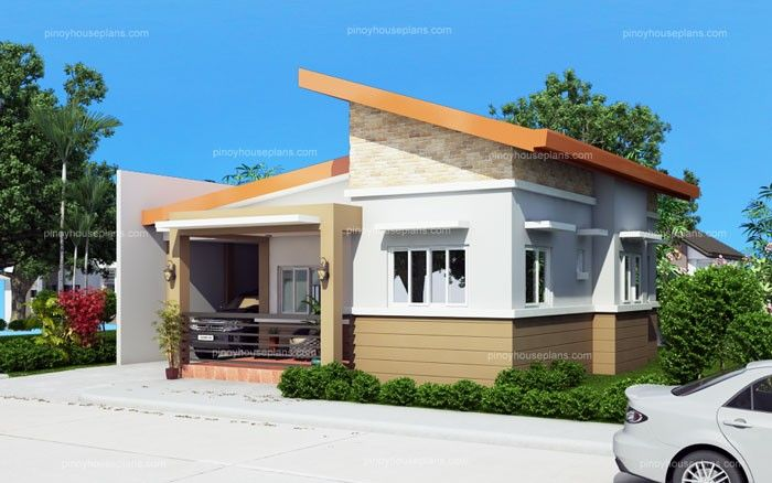 Cecile One Story Simple House Design Pinoy House Plans Modern Small House Design Simple House Design Small House Design