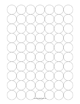 Graph Paper With Circles Touching At    And Degrees