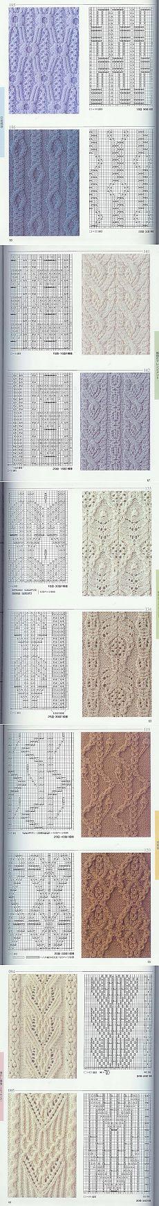 日本棒针花样编织250例(2)--木棉花的日志 - ╰☆開心快樂ㄜ︵的日志 - 网易博客