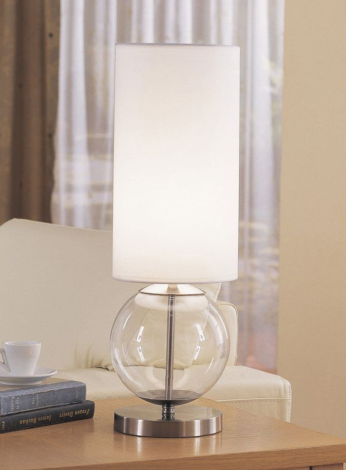 Anthony Of California G2080 123 Clear Glass Table Lamp With Images Clear Glass Table Lamp Table Lamp Lamp